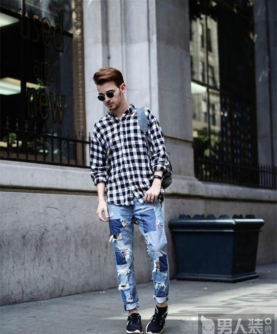 街头百搭法宝 这个夏天怎能少了破洞牛仔裤?