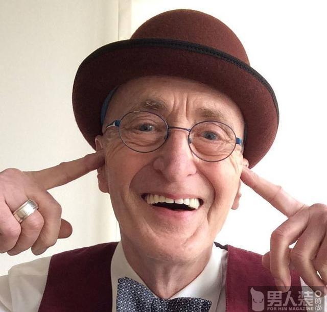 他是世界上最老最时髦的爷爷 坐地铁都比你潮
