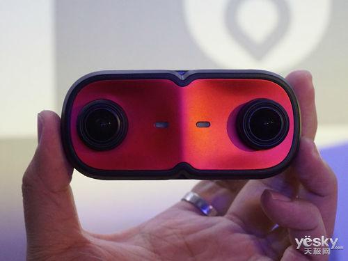 双目3D真VR 蚁视VR运动相机现场图赏
