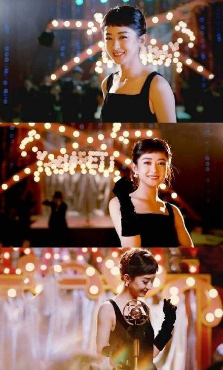 赵丽颖cos赫本经典造型 get她的美了吗?