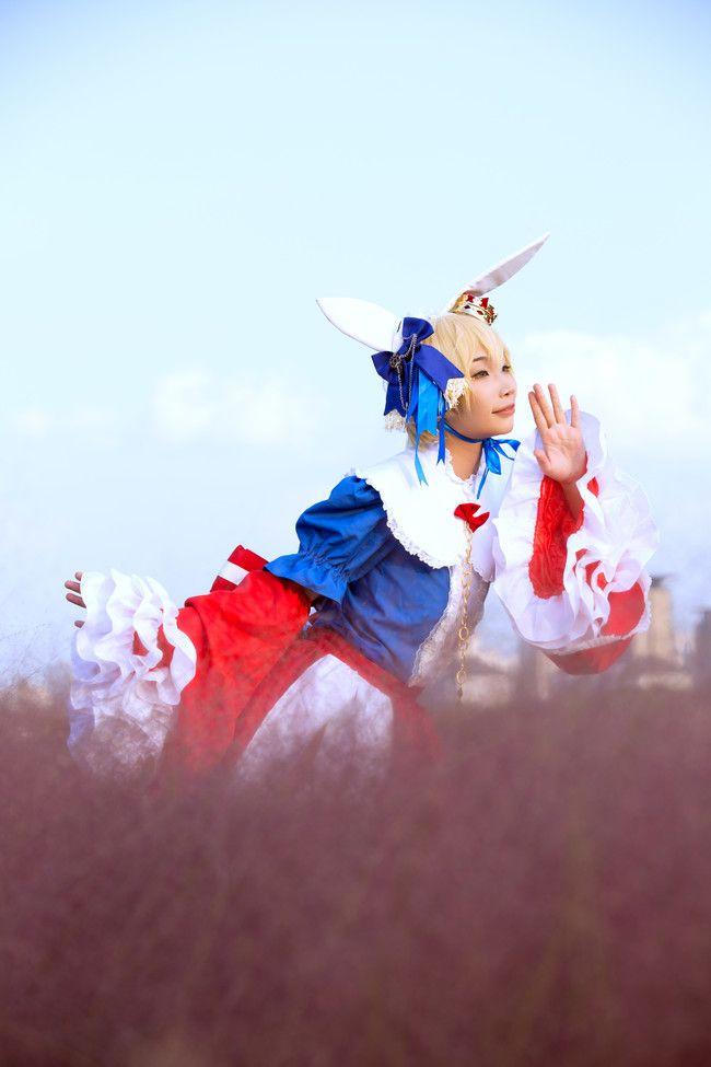 游戏动漫cosplay美图 镜音双子【镜音双子 花野仙踪】