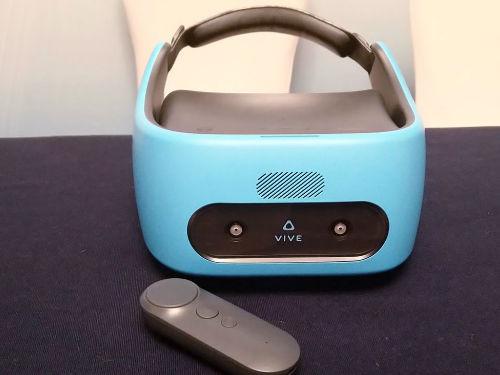 这个蓝色有点眼熟 VIVE FOCUS VR一体机图赏