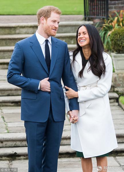 哈里王子与女友宣布婚讯 将于2018年春迎娶女友