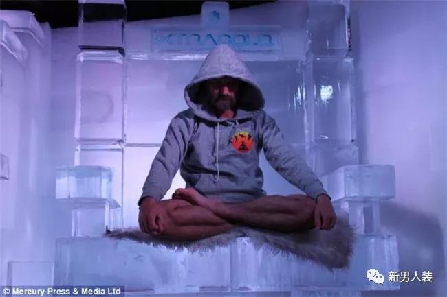 跪着看:世上最不怕冷的人