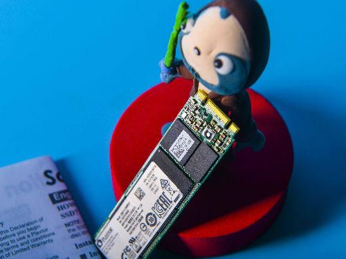 浦科特新品M8VG M.2接口固态硬盘图赏