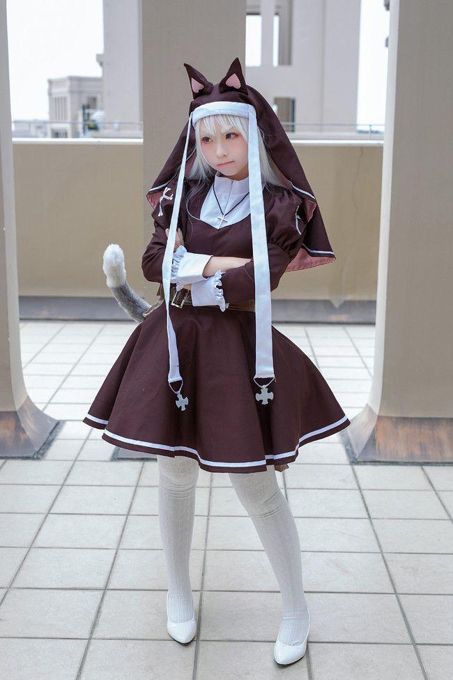 少女前线 P7【诸位 我们好好相处吧!】好看的cosplay