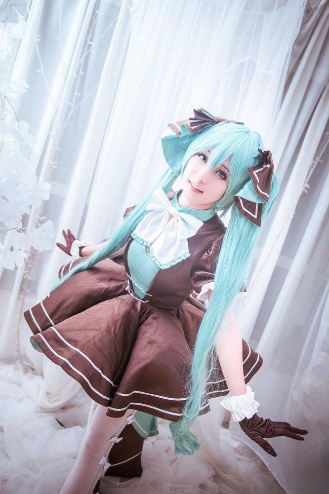 初音未来 Miku39兔子洋装 cosplay女生福利