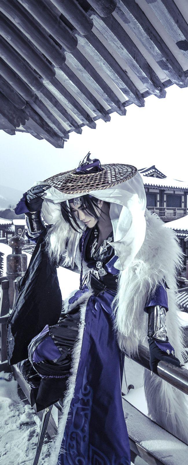 剑侠情缘网络版叁 燕云刀爷 cosplay男神
