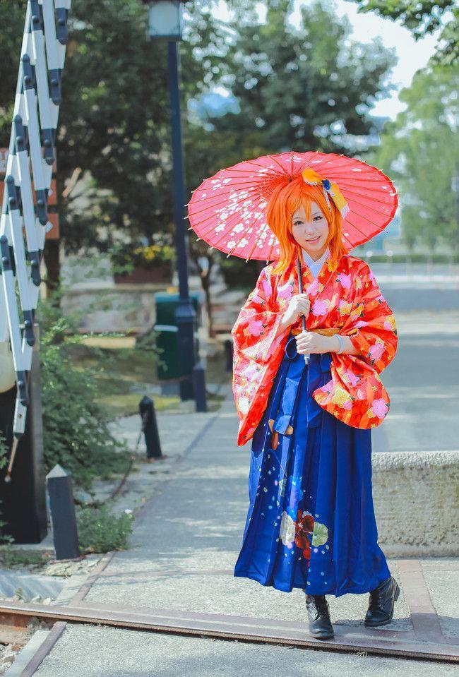 高坂穗乃果 小泉花阳 大正未觉醒 好看的cosplay和服