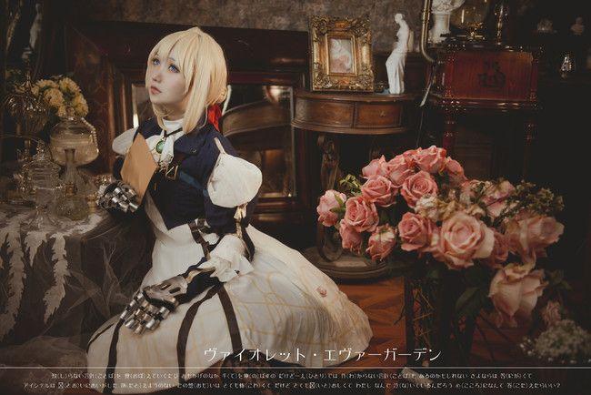 紫罗兰永恒花园高清图片cosplay摄影
