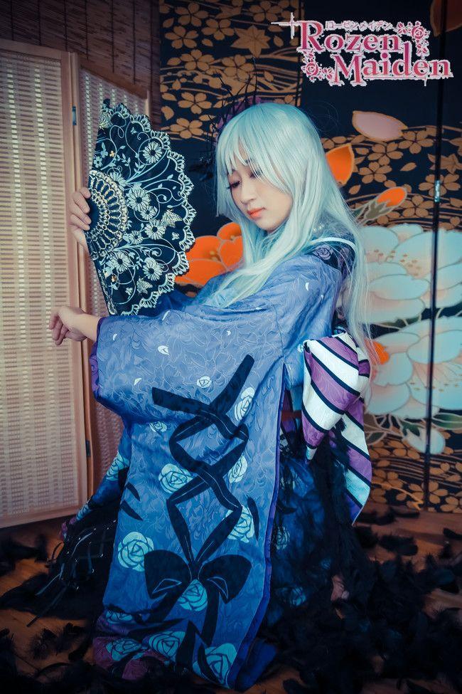 蔷薇少女 水银灯 大正浪漫 cosplay摄影和服
