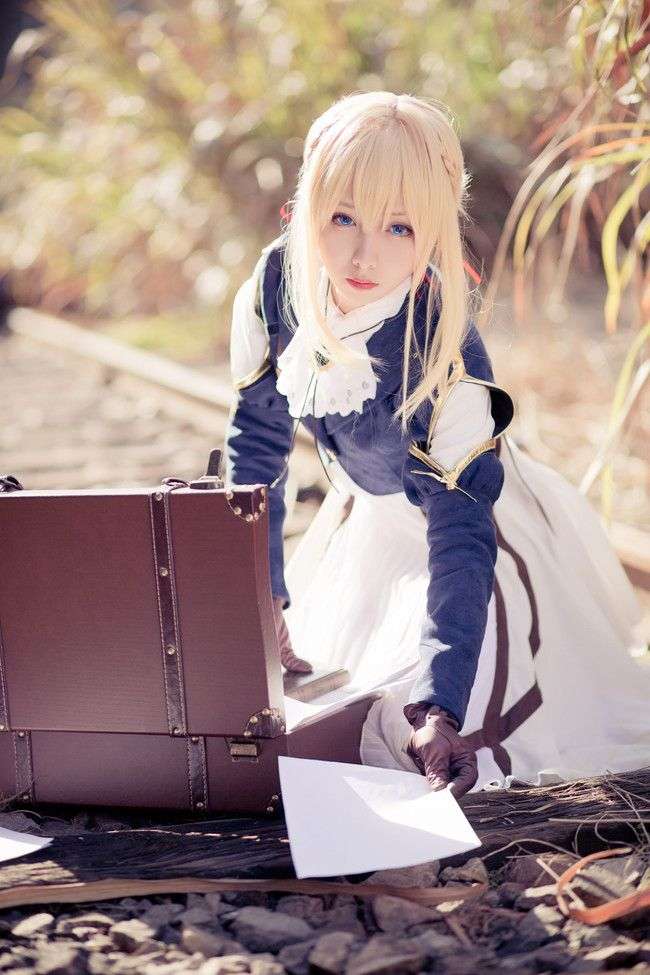 cosplay壁纸 紫罗兰永恒花园