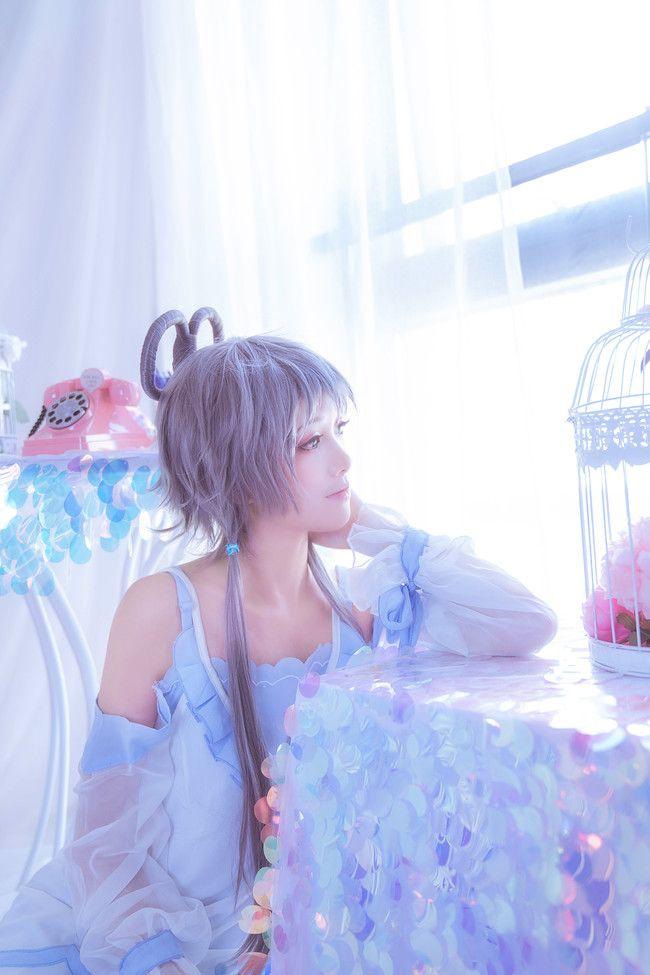 cosplay摄影福利 洛天依 香草冰激凌