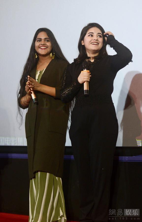 印度电影明星阿米尔・汗新片《神秘巨星》女主角广州亮相