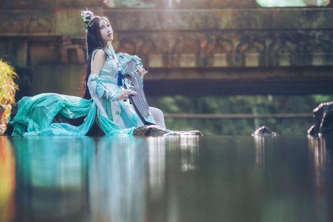 剑侠情缘网络版叁 长歌琴娘 高清chinajoy摄影