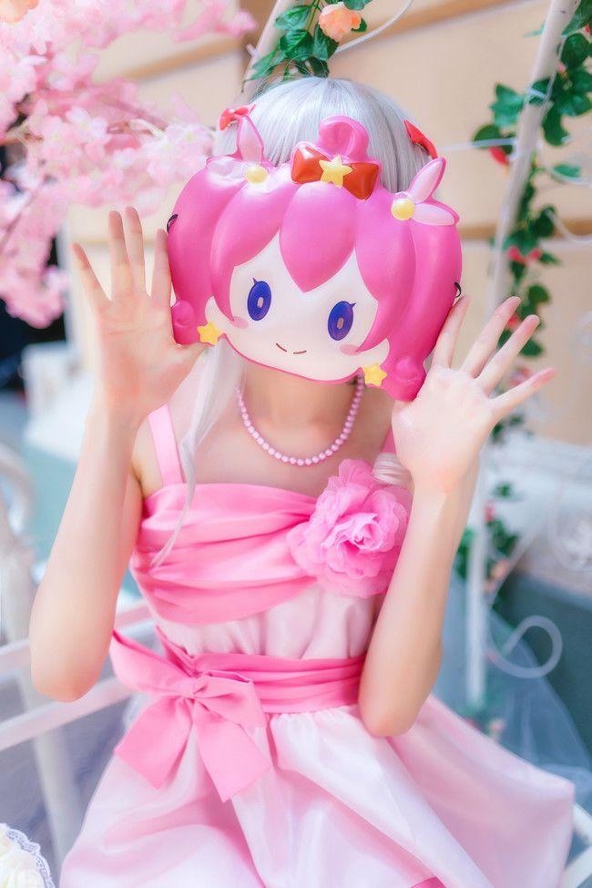 埃罗芒阿老师 和泉纱雾 cosplay可爱摄影