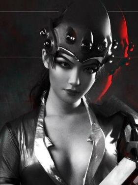 守望先锋 黑百合 cosplay动漫女神