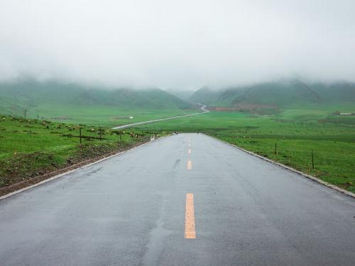 公路沿途美景图片 美如画