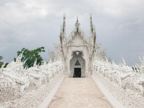 泰国名胜古迹摄影 宛若天空之城