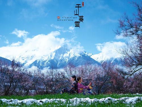 藏族摄影踏雪寻梅摄影写真 网友赞'每张都是壁纸'