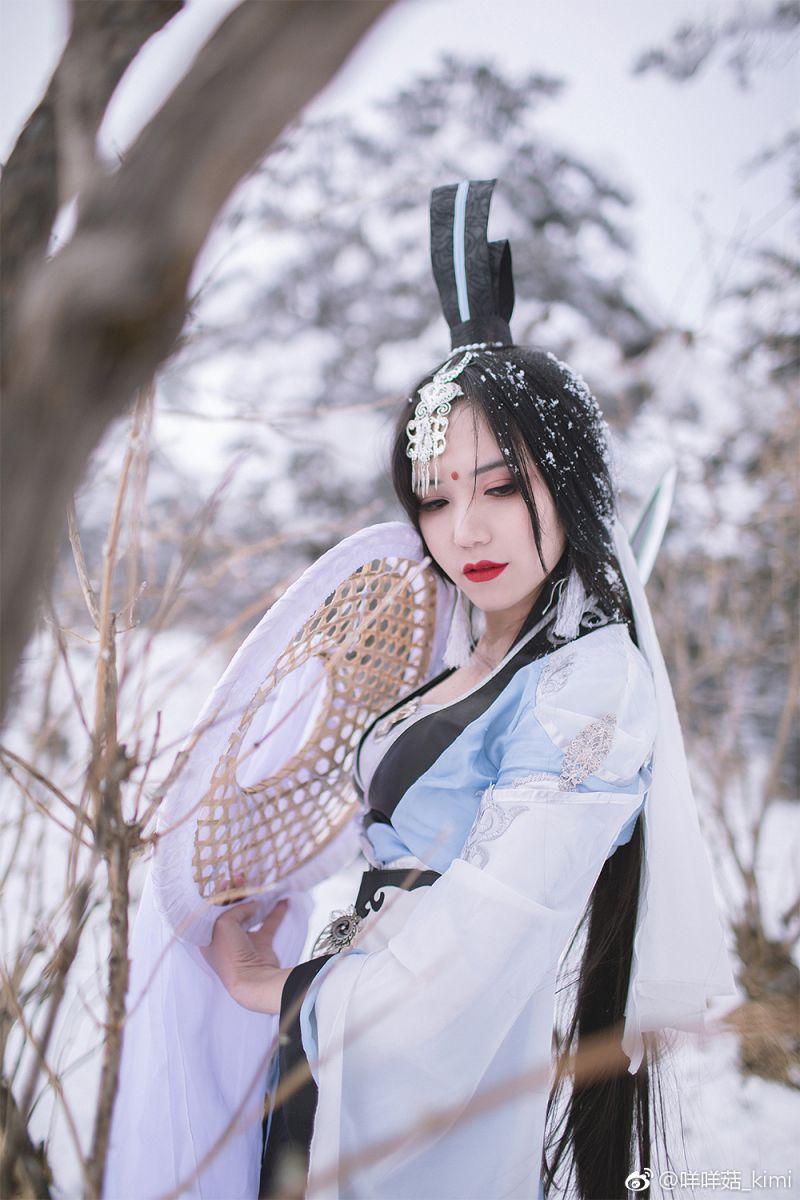 真人osplay 剑侠情缘网络版叁 破军道姑