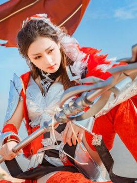 剑侠情缘网络版叁 雪河军娘 cosplay摄影图片