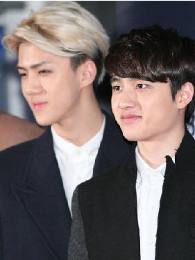 EXO帅气出镜 高颜值超吸睛