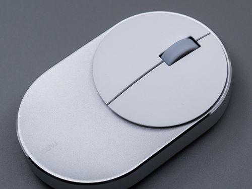 雷柏M600无线双模鼠标开箱图赏:极致简约