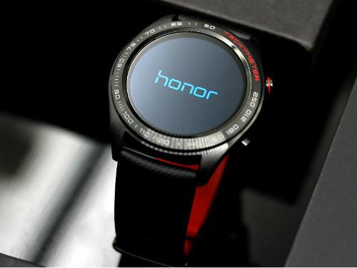 轻薄高颜值设计 HONOR Watch Magic熔岩黑版图赏