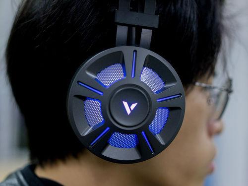 听声辩位 雷柏VH510游戏耳机开箱图赏