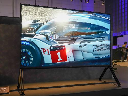清晰度爆表!索尼首款8K電視Z9G現場體驗