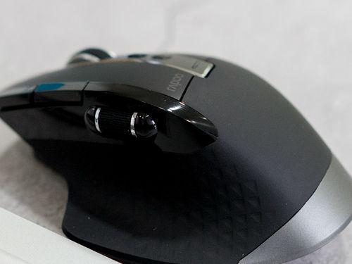 雷柏MT750S多模式无线鼠标图赏