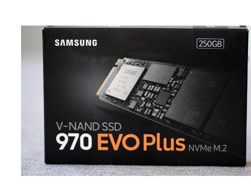 高性能 大容量 三星970 EVO Plus SSD图赏
