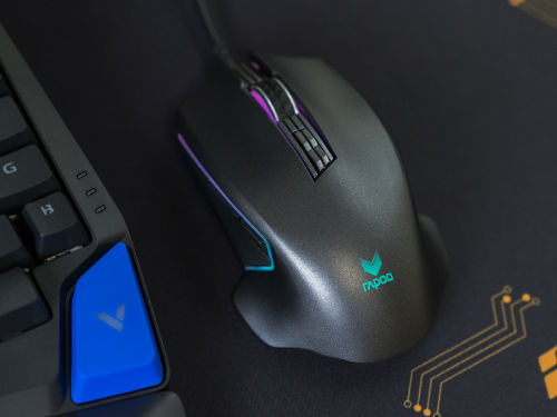 雷柏V20PRO双模版游戏鼠标开箱图赏