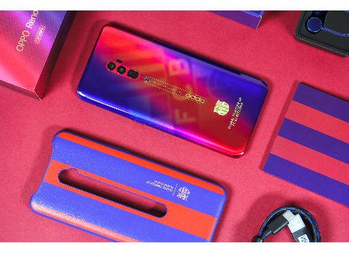 红蓝出奇迹:新成员OPPO Reno巴萨定制版已到货