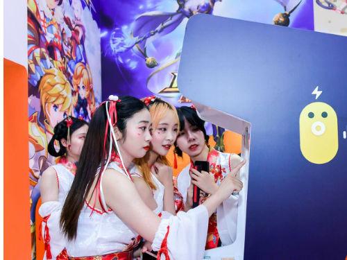 快手携A站首度亮相ChinaJoy 游乐园展台成全场必逛打卡地