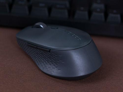 雷柏M300S多模式无线充电鼠标图赏